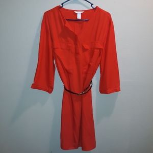 H&M SHIRT DRESS Sz 14